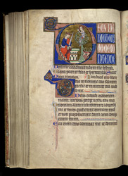 Prime, Hours of the Trinity, in the Salvin Hours